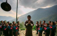 Kikhar Primary School in Zhemgang
