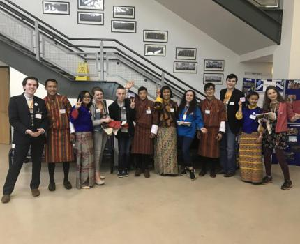 Institutional program learning visit by Bhutan Children's Parliament members