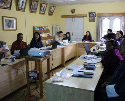 Country Director's visit to Bhutan