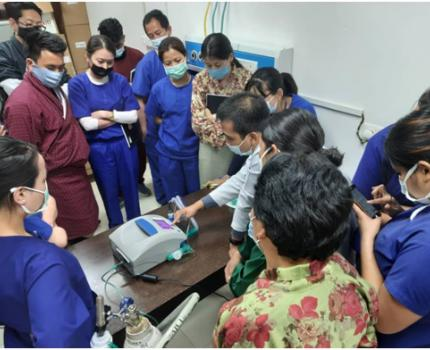 USAID / FHI 360 SUPPORTED critical care TOT in JDWNRH